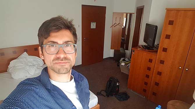 Ich im Seehotel Niedernberg