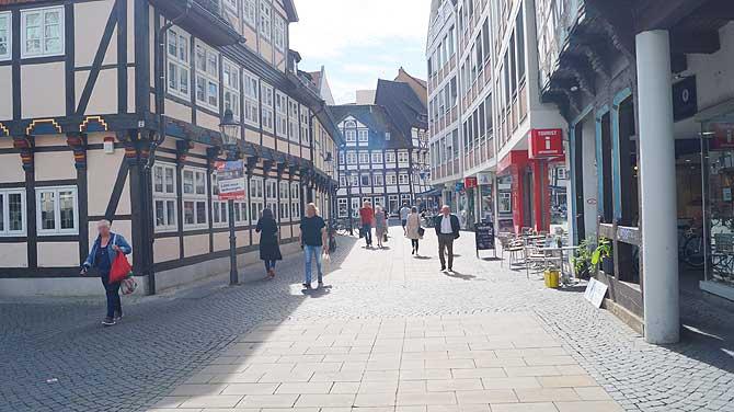Die Innenstadt von Braunschweig