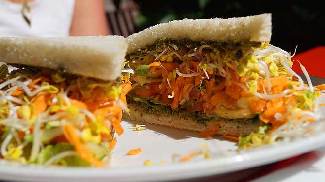 Sandwich Toast im La Vigna Braunschweig