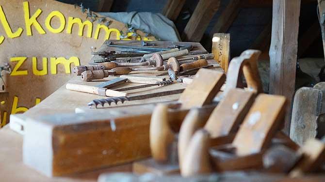 Werkzeug eines Müllers