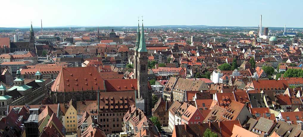 Franken ist ein schönes Stück Deutschland so wie die Sehenswürdigkeiten in Nürnberg