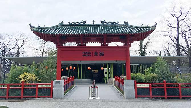 Panda Garden im Berliner Zoo