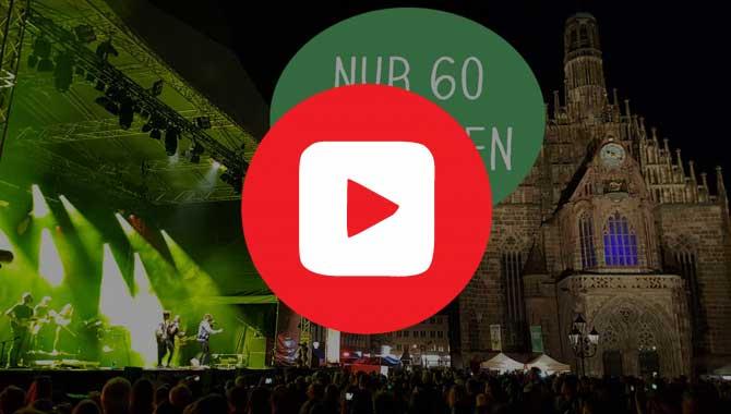 60 Sekunden Video vom Bardentreffen Nürnberg