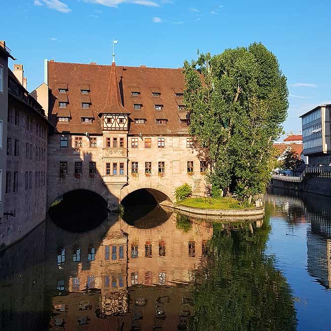 Eine der wichtigsten Sehenswürdigkeiten in Nürnberg