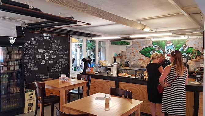 Cafe Machhörndl von innen