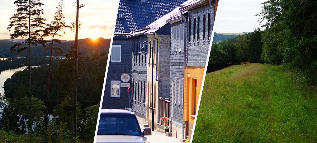 Urlaub im Schiefergebirge bedeutet Urlaub im hinteren Thüringen
