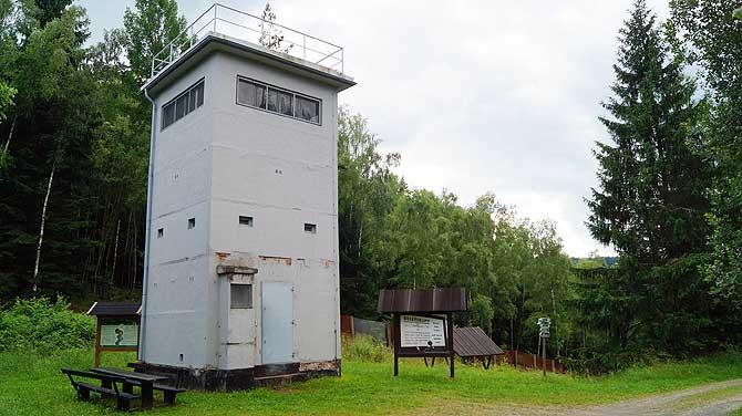 Grenzturm am Grünen Band Deutschland