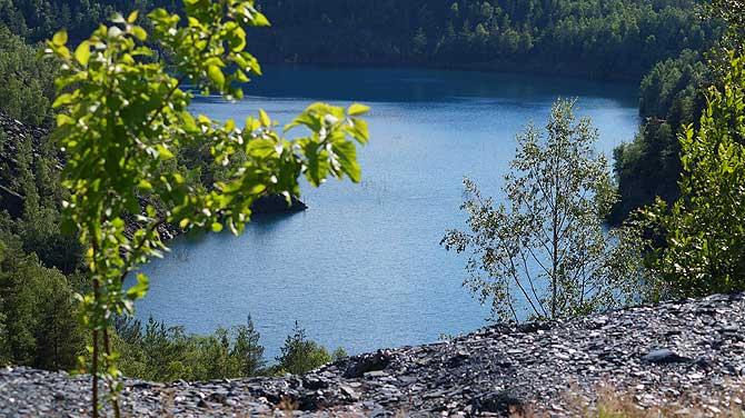 Der Schieferpark ist ein tolles Ausflugsziel beim Urlaub im Schiefergebirge