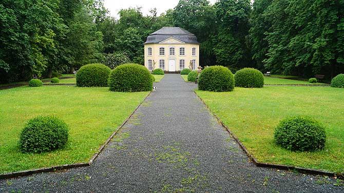 Rokoko Pavillon im Burgker Schlossgarten