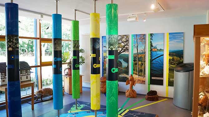 Ausstellung im Nationalparkhaus Leutenberg