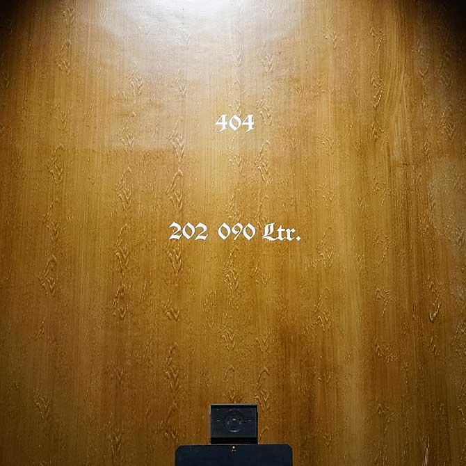 Rund 200 000 Liter passen in ein Fass