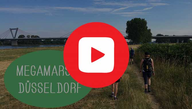 Video vom Megamarsch Düsseldorf 2019