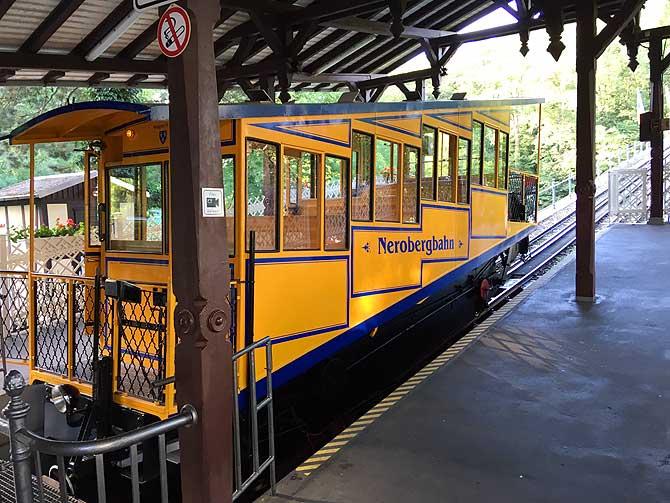 Talstation der Nerobergbahn