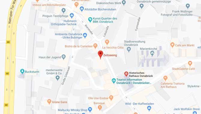 Nachtwächter Führung in Osnabrück Anreise
