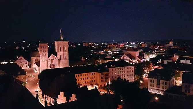 Blick vom Rathaus auf den Osnabrücker Dom