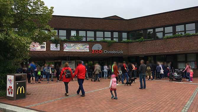 Eingang zum Osnabrücker Zoo