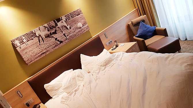 Ganz coole Zimmer im Hotel