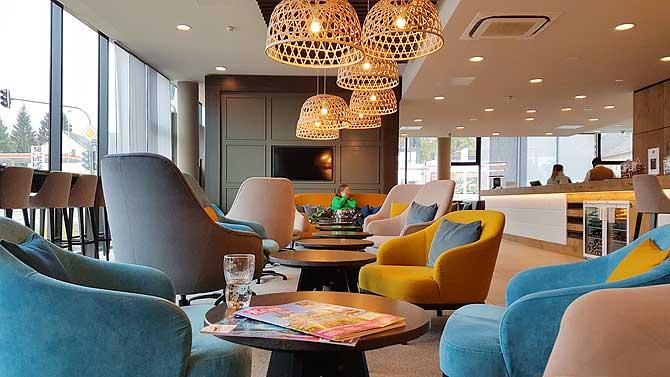 Lobby mit Design und Geschmack