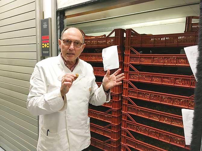 Heinz Klein ist der Herr der Printen