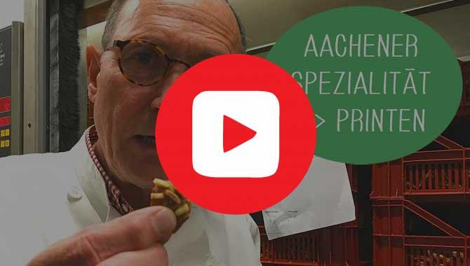 Video Interview mit Heinz von Printen Klein Aachen