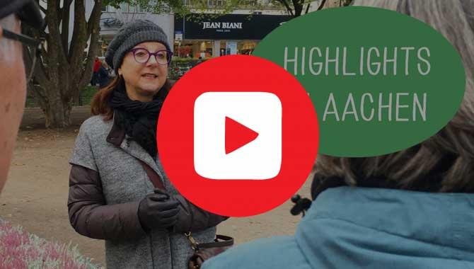 Sabine Mathieu ist Stadtführerin und kennt die top Sehenswürdigkeiten in Aachen