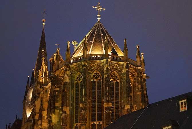 Weihnachtliche Stimmung in Aachen