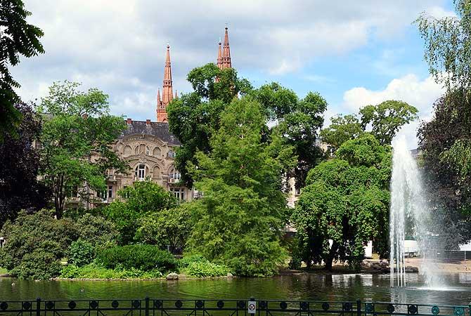 Schöne Sehenswürdigkeiten in Wiesbaden