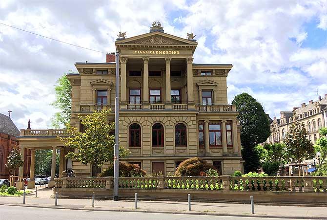 Villa Clementine in Wiesbaden