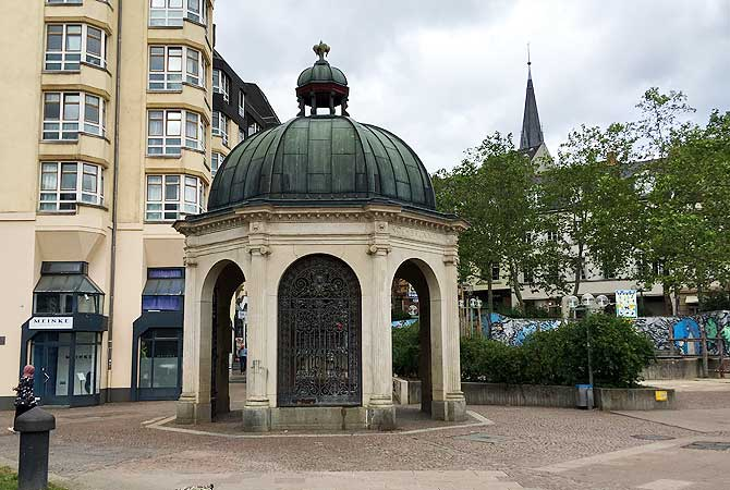 Pavillon am Kranzplatz