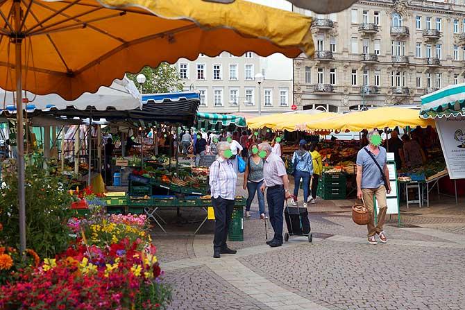 Markt in Wiesbaden