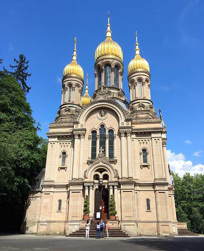 Russische Kirche auf dem Wiesbadener Neroberg