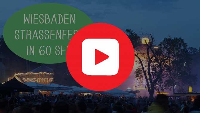 Wilhelmstraßenfest Wiesbaden in nur 60 Sekunden