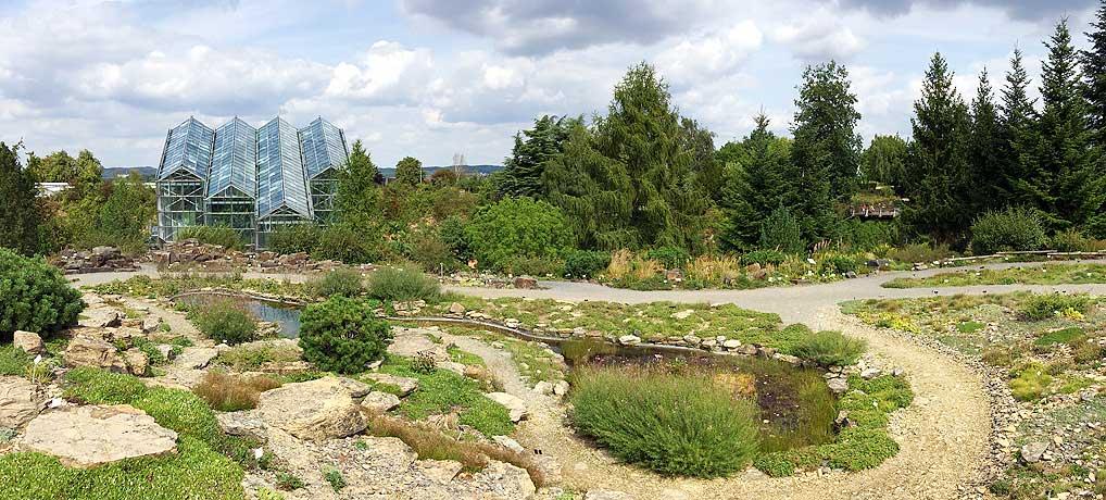 Ein Botanischer Garten als Ausflugziel in Osnabrück ist schön.