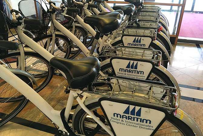 Maritim Hotel Dresden Fahrradverleih