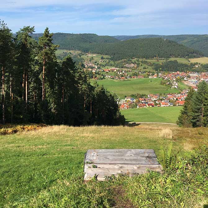 Gleitschirm-Startplatz