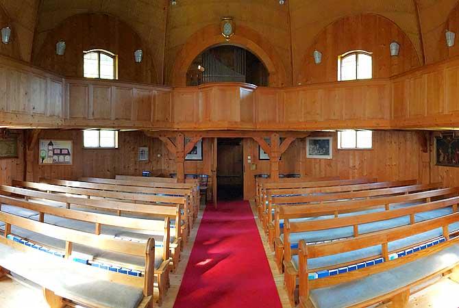 Michaelskirche Baiersbronn von innen