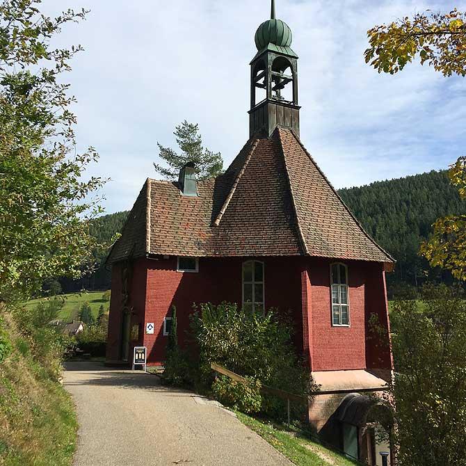 Michaelskirche auf dem Sankenbachsteig