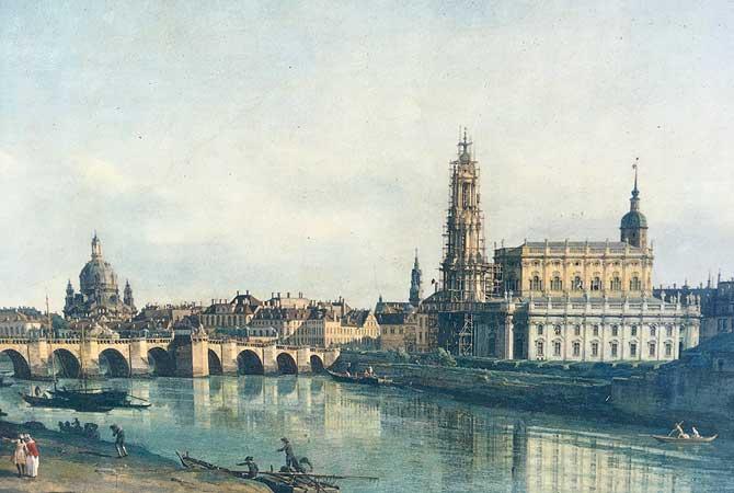 Dresden damals
