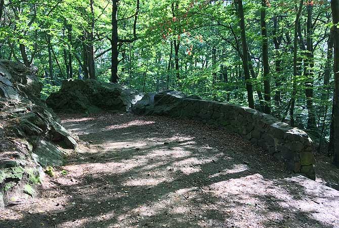 Viele Trails und Wanderwege