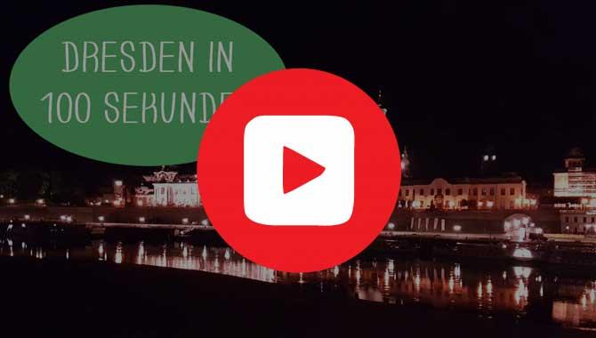 Video mit top Sehenswürdigkeiten in Dresden