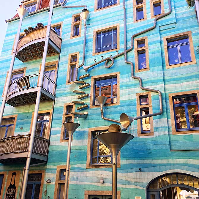 Kunsthofpassage Blauer Hof