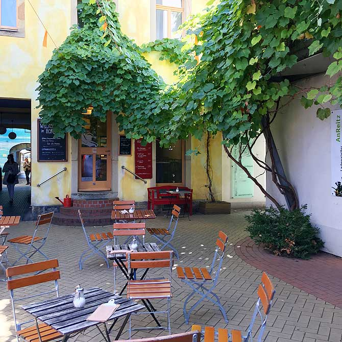 Kunsthofpassage Cafe