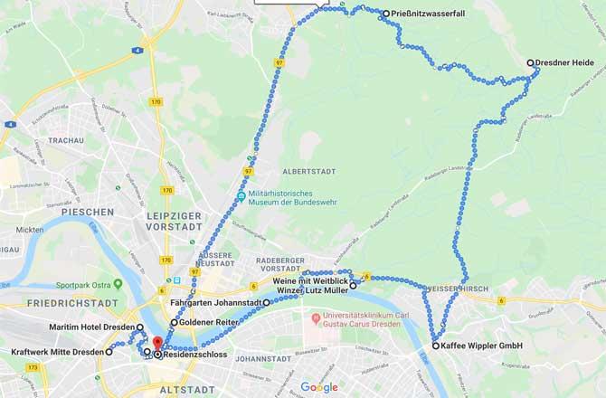 Sehenswürdigkeiten in Dresden mit Maritim Hotel Dresden