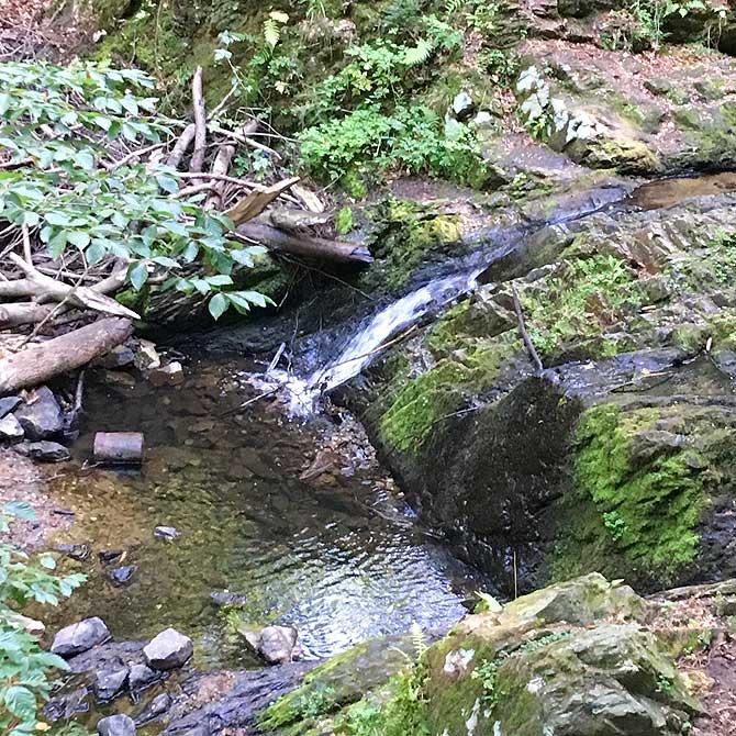 Prießnitz Wasserfall