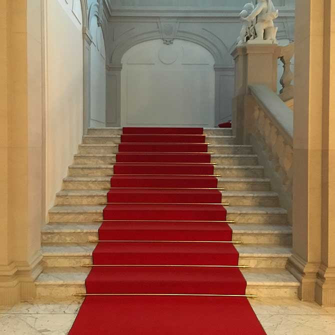 Englische Treppe im Residenzschloss Dresden