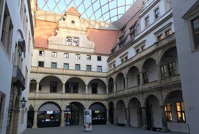 Residenzschloss Dresden Innenhof