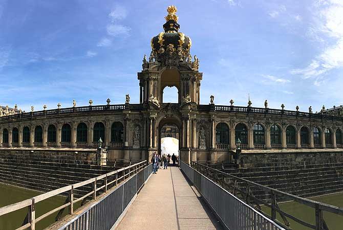Zwinger Dresden Kronentor