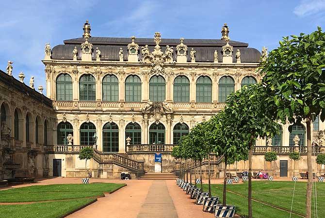 Zwinger Dresden Innenhof