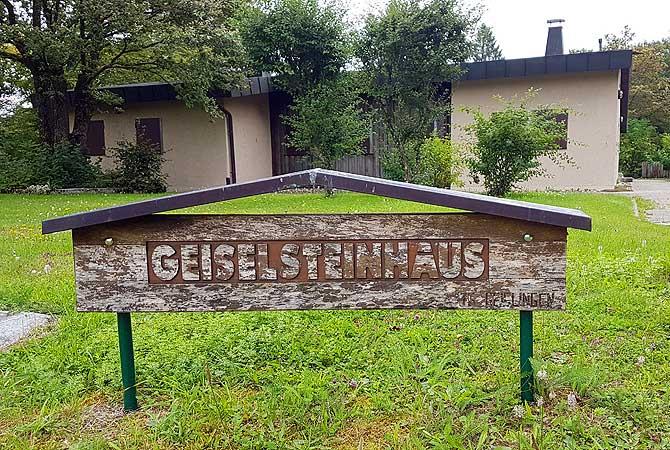 Eingang zum Geiselsteinhaus