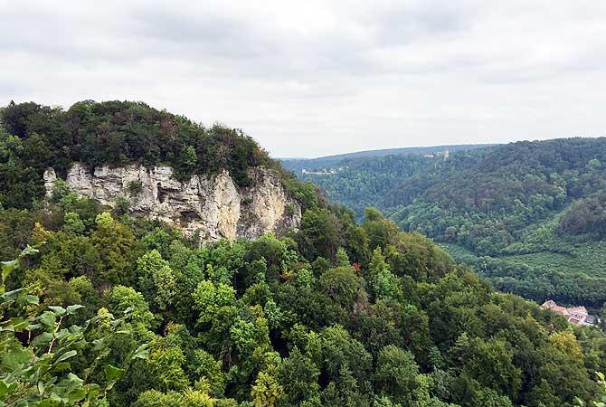 Geiselstein vom Tiroler Fels aus